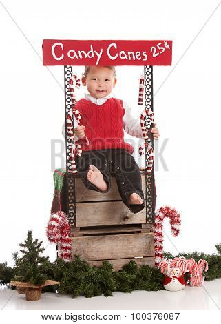 Candy Canes for Sale.