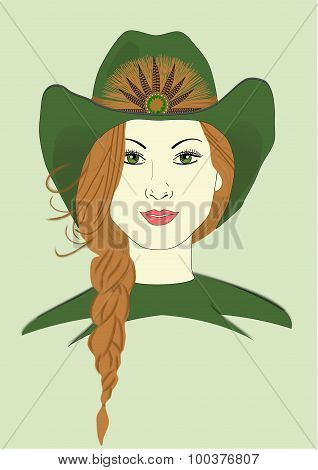 Izzy's Cowboy Hat
