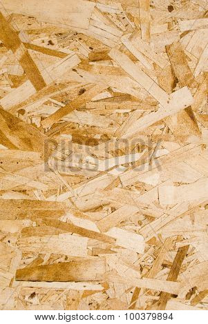 Detail Of Chipboard Sheet Of Wood