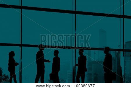 Business People Handshake Deal Collaboration Meeting Concept
