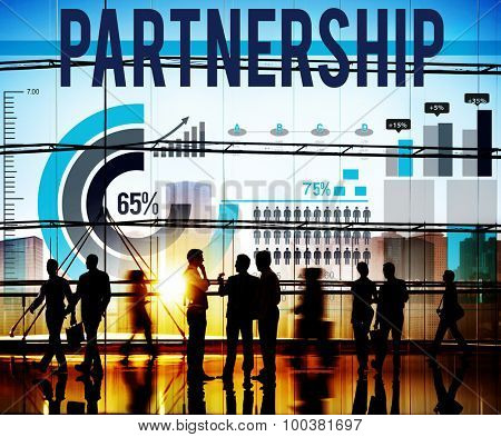 Partnership Teamwork Union Collaboration Agreement Concept