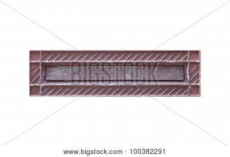 Metal postbox