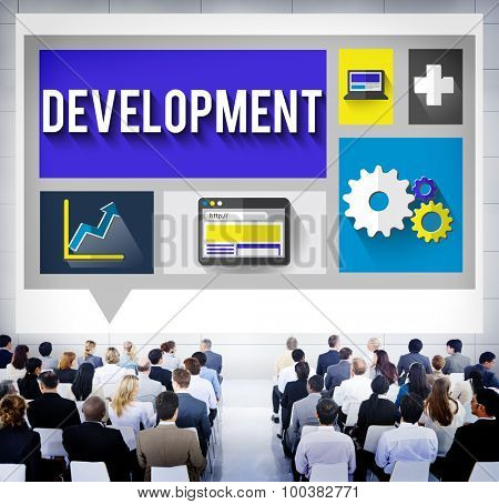 Development Improvement Growth Team Goals Concept