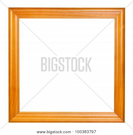 Square Lacquered Wooden Picture Frame