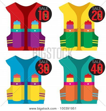 Colorful  Hydration Vest On Sale.