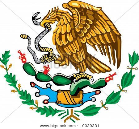 Mexican Coat Of Arms Color