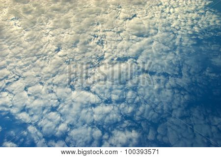 Beautiful Cumulus Clouds.