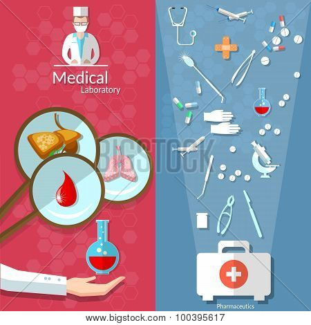 Medicine, Open First Aid Kit, Blood Donation, Transplantation, Pills, Human Organs