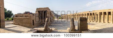 Philae Temple Panorama