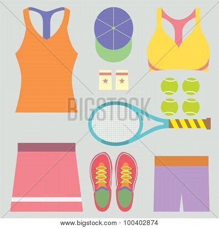 Top View Tennis Women's Gears.