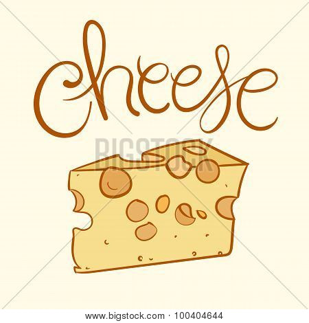 Cheese Vector Illustration