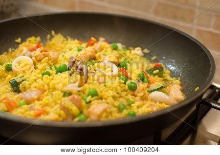 cook paella