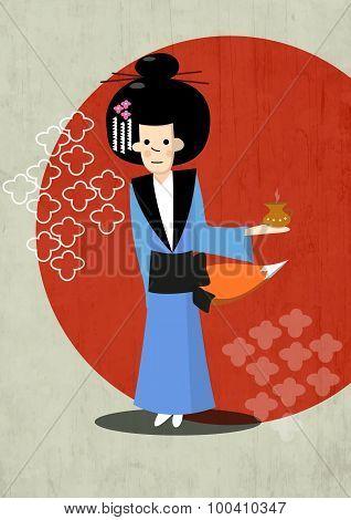 Geisha fairy fox