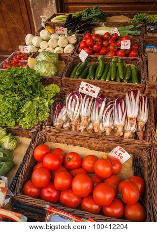 Vegetables, Venice, Italy