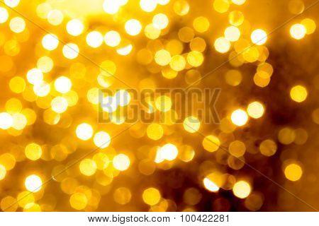 Defocused lights festive background
