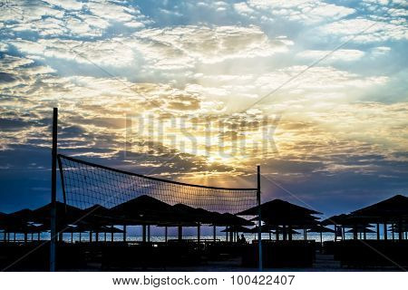 Sunrise in Hurghada / Makadi Bay - Red Sea, Egypt