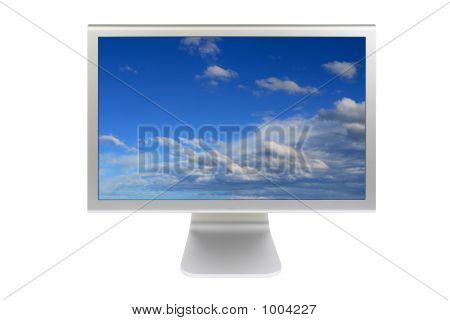 Monitor de pantalla plana Lcd computadora