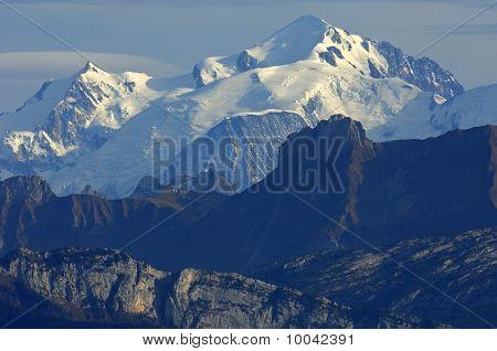 Mt. Mont Blanc, Alps savoie, France