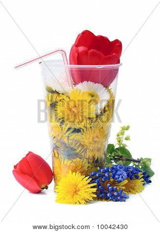 Cold  Punch From Flowers