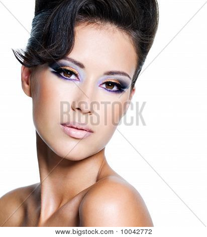Glamour Woman With Modern Make-up