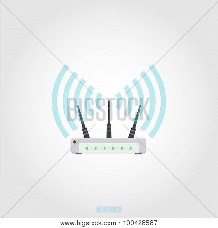 Router vector icon