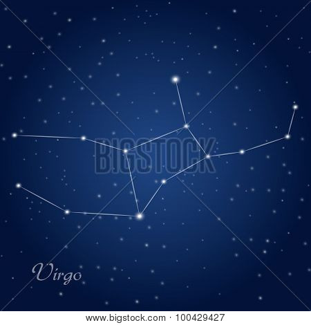 Virgo constellation zodiac