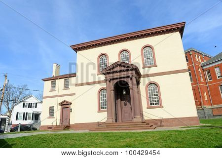 Newport Touro Synagogue, Rhode Island, USA