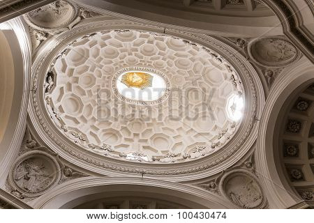 San Carlo Alle Quattro Fontane Church, Rome, Italy