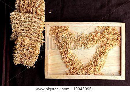 Dry Instant Noodle - Asian Ramen