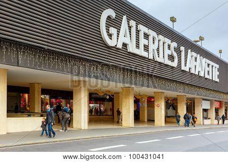 Galeries Lafayette in Montparnasse, Paris