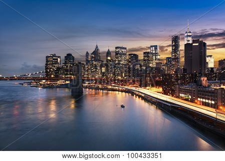 New York  City Lights