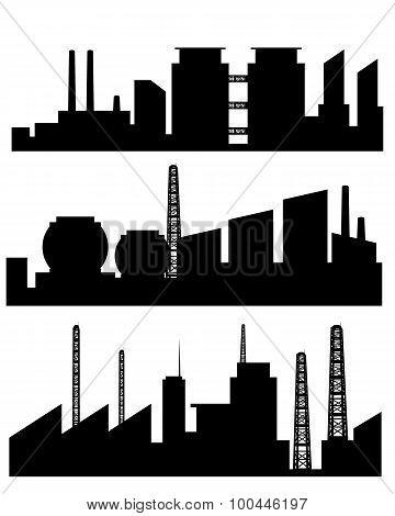Three Factories Silhouettes