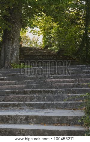Spanish stairs, Jardines de la Granja de San Ildefonso, monuments in Spain