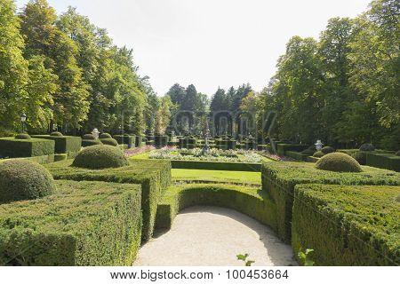 Baroque maze, Jardines de la Granja de San Ildefonso, monuments in Spain