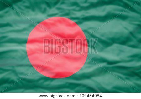 Bangladesh flag.