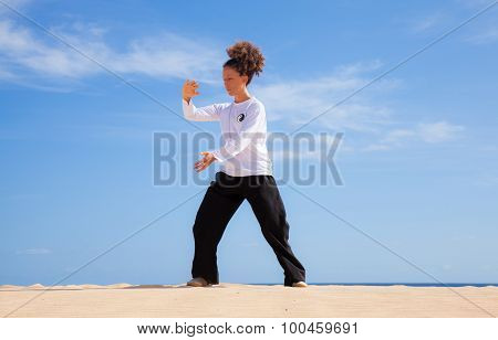 Tai Chi In The Dunes