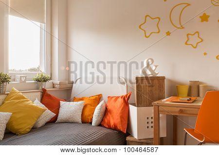 Cozy Bedroom For Little Girl