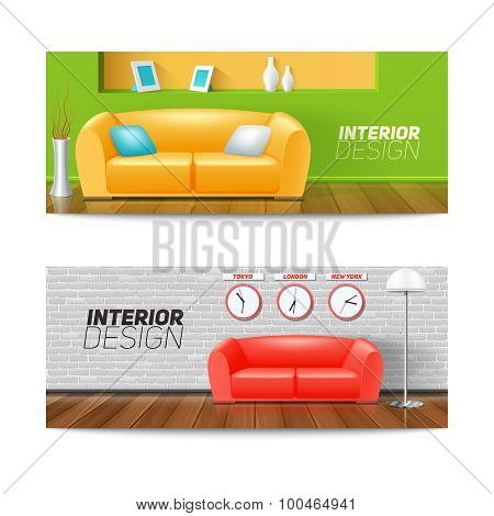 Interior Banners Set