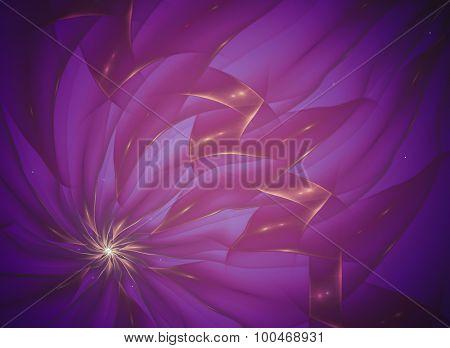 Creative Artistic background fantasy energy futuristic. Elegant design.