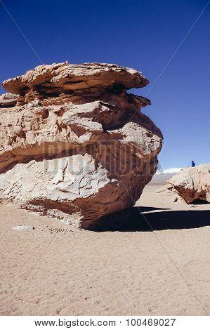 Stone Desert in Bolivia