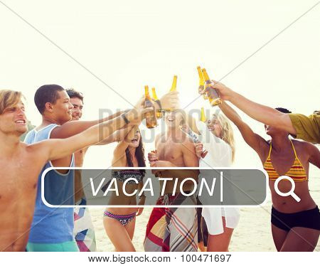 Vacation Holiday Leisure Travel Happiness Fun Concept