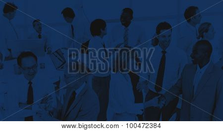 Group of Business People Meeting Office Workshop Concept