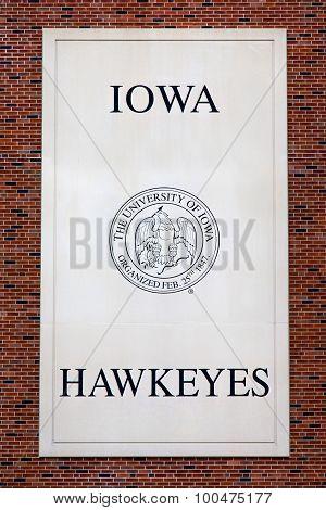 Iowa Hawkeyes Emblem And Seal