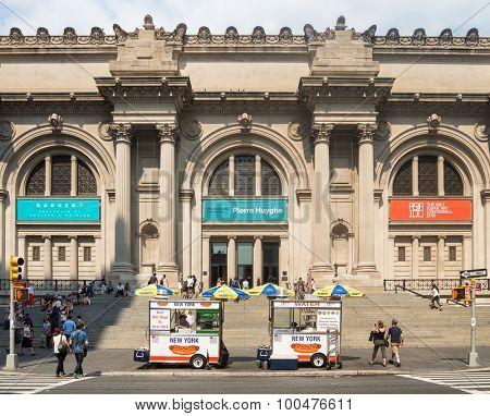 NEW YORK,USA - AUGUST 14,2015 : The Metropolitan Museum of Art in Manhattan
