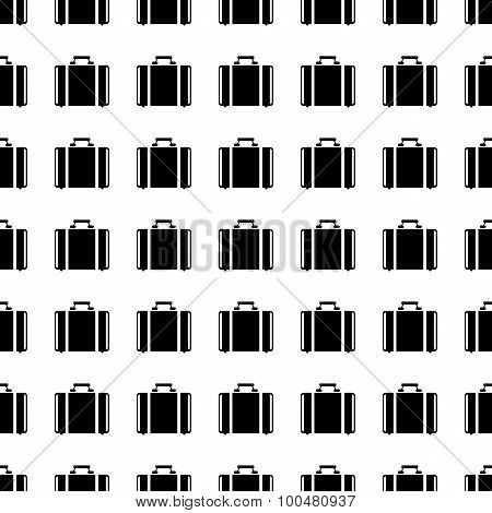 Suitcase Seamless Pattern. Vector