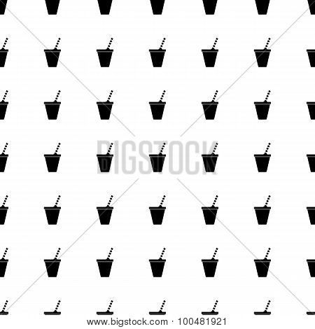 Soft Drink Seamless Pattern. Vector