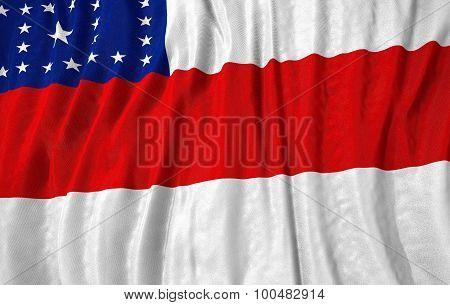 Corrugated Brazilian State Amazonas Flag