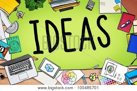 Ideas Creative Strategy Tactics Vision Concept