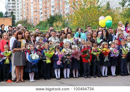 The Knowledge Day In Russia