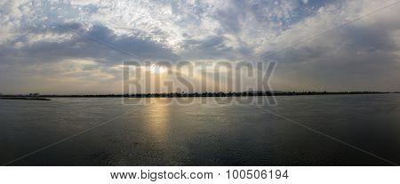 Nile Sun Set